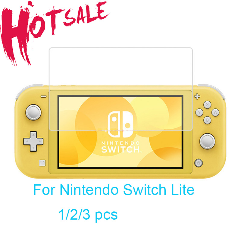 Защитное закаленное стекло для Switch Lite Mini NX, защитная пленка для экрана HD, аксессуары для Nintendo Switch Lite