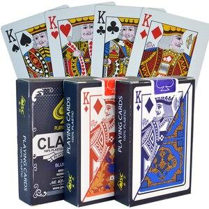 PVC Poker Cards Waterproof Tex