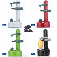 Electric Spiral Apple Peeler Cutter Slicer Fruit Potato Automatic Battery Operated Machine Peeler Slicer Machine Kitchen Tools
