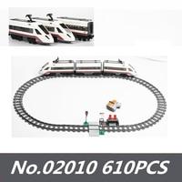 Lepinblocks 02009 02118 City Series Cargo RC Trains Brick Building Blocks Passenger 60052 60098 60051 Toys for Christmas Gifts Blocks Toys & Hobbies -