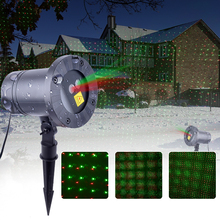 WUZSTAR Outdoor Waterproof LED Christmas Snowflake Projector Lamp Spotlight Birthday Halloween Wedding Laser Projector Lights outdoor lights laser projector christmas decorations for a holiday motion snowflake double color 8 pattern waterproof with timer