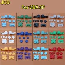JCD 10 set Kleurrijke Plastic Volledige Button Set Voor GameBoy Advance SP voor GBA SP EEN B Selecteer Start Power op Off L R Knoppen D Pad