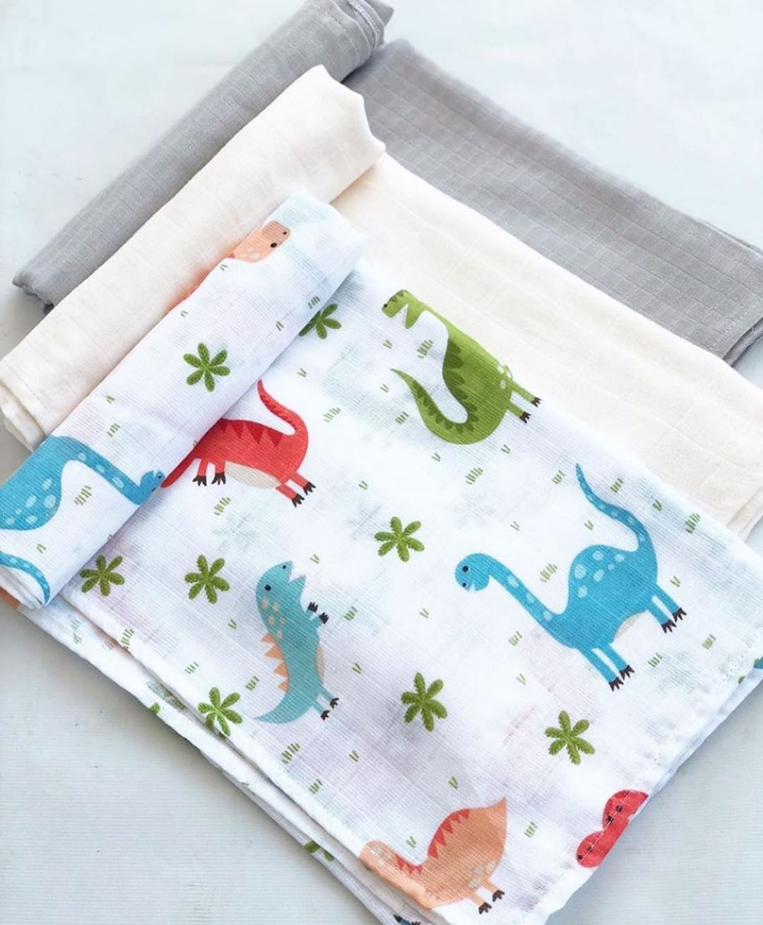 Swaddle Baby Cotton Bamboo Blanket Baby Muslin Blanket Swaddling Blanket Muslin 120x110cm