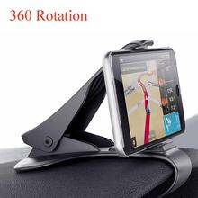 цена на 360 rotation Car Dashboard Holder Clamp Clip Mount Stand For Smartphone Car GPS Stand Holder accessories