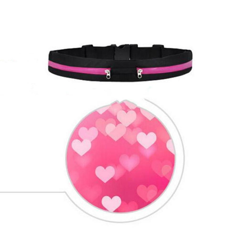 MeterMall Multifunctional Waist Bag Leisure Light Weight Adjustable Phone Bag For Outdoor Running