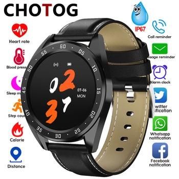 Reloj inteligente para hombre Mujer 1,3 podómetro electrónico de pantalla para deporte presión arterial Monitor de ritmo cardíaco reloj inteligente Ip67 impermeable