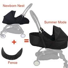 Bebek arabası uyku sepeti 0 6M yenidoğan doğum yuva Babyzen Yoyo Yoya arabası bebekler kış uyku tulumu arabası aksesuarları
