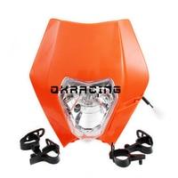 Faróis faróis para motocicleta fora de estrada ktm zhenglin bse kayo crf ttr buyang grimace faróis grande capa da lâmpada 116/5000