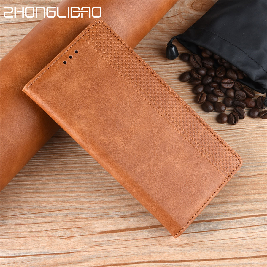 Leather Flip Phone Case for Huawei Honor 20 V20 8x 8a Pro 10i Y6 Y7 Pro P Smart Y9 <font><b>2019</b></font> <font><b>Y5</b></font> 2018 Card Magnetic Wallet Cover shell image
