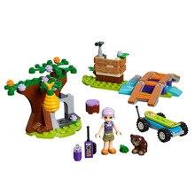 Girl Toys Mias Forest Adventures Compatible Legoines Friends 41363 Building Blocks Figure Bricks for Children Christmas Gift