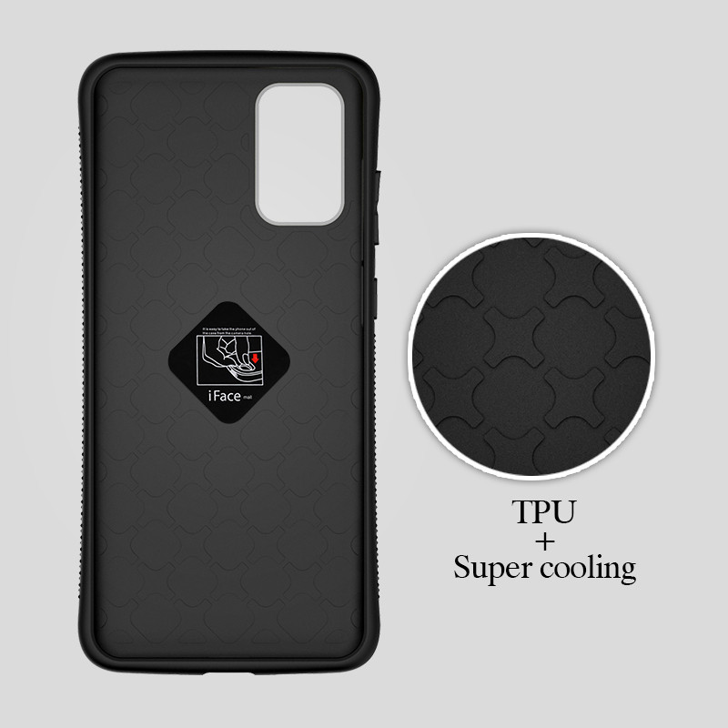 iFace Mall Bumper Shockproof Phone Case For Samsung S20 Ultra S20+ 5G Case For Samsung S9 S10E S10 PLUS S10 Lite Back Cover Case