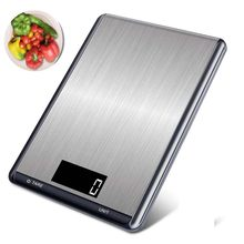 Digital Kitchen Scales LCD Backlight Display Stainless Steel Electronic Food Weight Balance Scales For Kitchen Cooking5/10Kg/1g