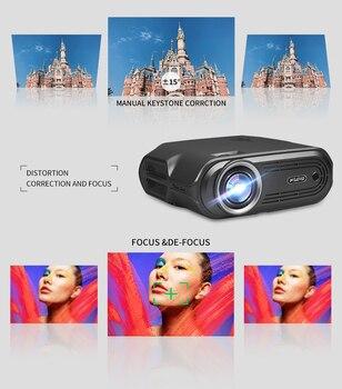 Портативный проектор WZATCO E80 3