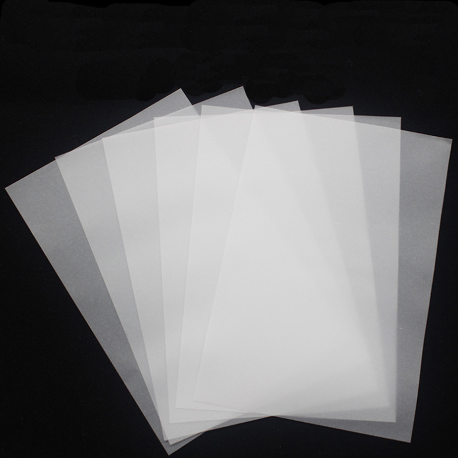 200pcs/lot 15*10cm Art back post card Sulfuric Acid Paper clear Tracing paper