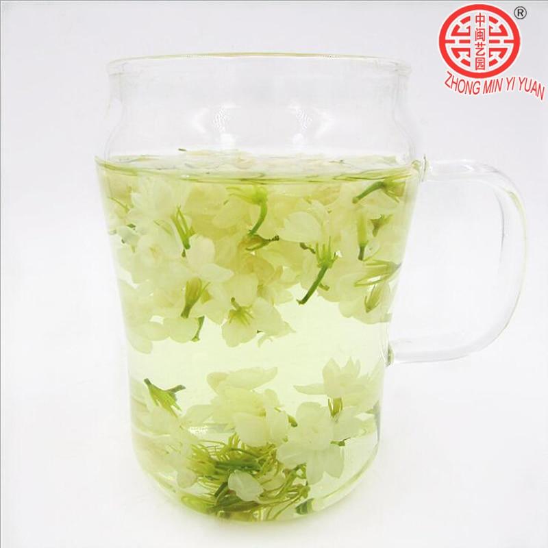 100g Fresh Jasmine Tea Natural Organic Premium Jasmine Green Tea Jasmine small Dragon Pearl Fragrance Flower Kung Fu Tea Food 2