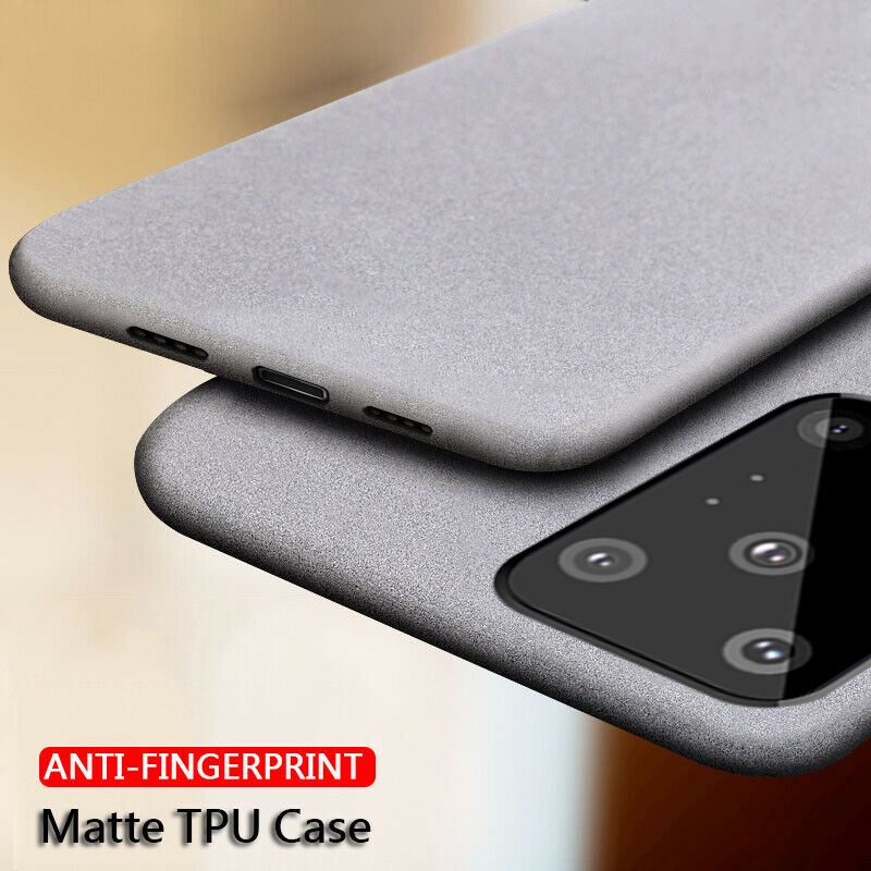Ultra Thin Soft Silicone Matte Cases For Samsung Galaxy A51 A71 S20 Plus S20 Ultra A50 A70 Anti Fingerprint Covers