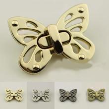 1 шт Женская металлическая застежка «бабочка»