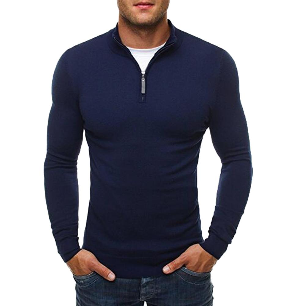 Sweater Men Brand Clothing 2019 Autumn Winter  Slim Warm Sweaters O-Neck Pullover Men Top