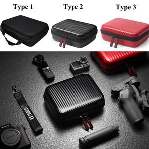 Image 1 - Cho DJI Osmo Mobile 4 3 PU/Bao Nylon Gimbal Mini Xách Túi Lưu Trữ Với Thanh Chân Máy cho DJI OM4 Phụ Kiện