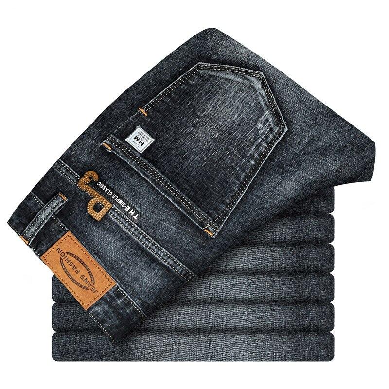 Casual Slim Fit Shorts For Men Demin Jogger Streetwear Style Male Clothes Short Pants Biker Knee Length Luxury Hip Hop Jeans CQY