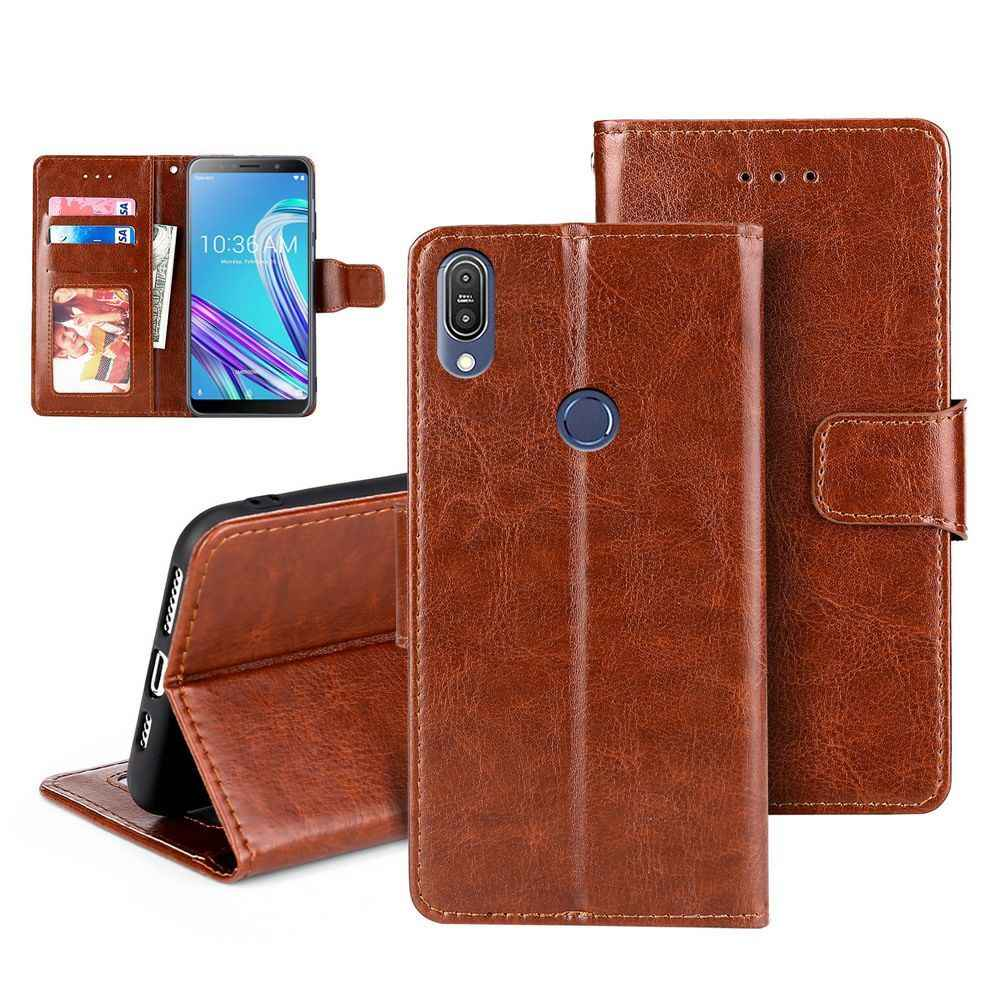 Luxe Pu Leather Wallet Flip Leather Case Voor Oukitel C12 C13 C15 Pro Mix 2 C8 U18 U22 Magnetische Cover met Card Slot