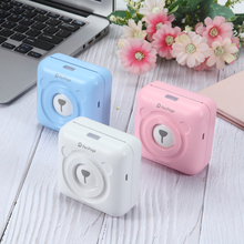 Mini Portable Bluetooth Wireless Paper Photo Printer Pocket Thermal Printing USB Connection цена