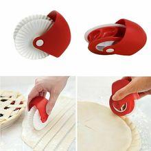 Резак для пиццы круглый ролик Кондитерские решетки инструмент для приготовления пищи Convenien пластиковые колеса роликовые кухонные инструменты для выпечки