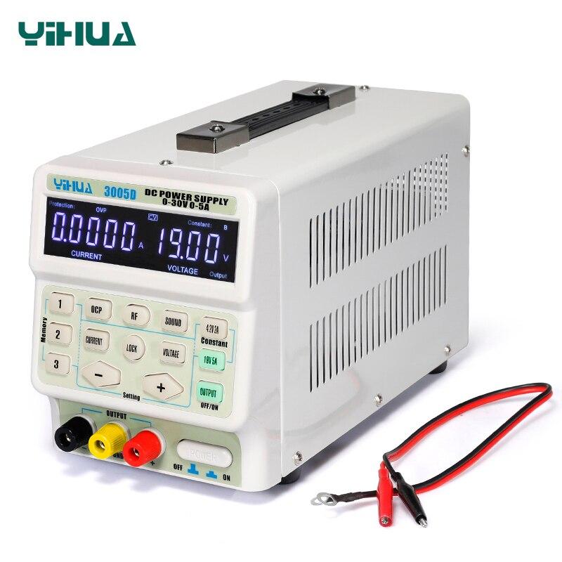 5A 30V DC Power Supply Adjustable Laboratory Power Supply YIHUA 150W 3005D