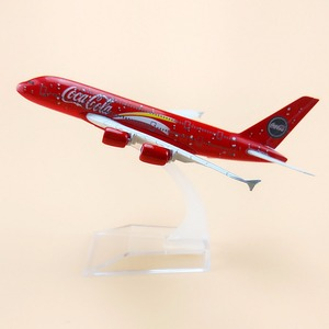 Alloy Metal Red Air Malaysia Airlines A380 Airplane Model Airbus 380 Airways Plane Model Aircraft Kids Gifts 16cm(China)