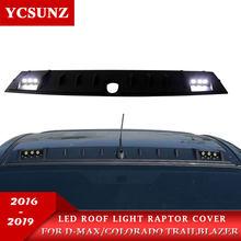 Led Roof Light Raptor Style For Isuzu Dmax d-max 2016 2017 2018 2019 Chevrolet Colorado TrailBlazer 2012-2019 dmax 2016-2019
