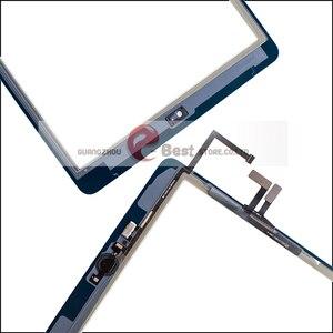 Image 4 - 2017 A1822 A1823 Màn Hình Cảm Ứng Cho iPad 5th Thế Hệ 5 Bộ Số Hóa Mặt Trước Kính Có Nút Home + Dây Cáp + Dụng Cụ cường Lực Glasss