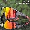 Acexpnm polarizado mountain bike ciclismo óculos de ciclismo esportes ao ar livre óculos uv400 4 lente ciclismo óculos de sol das mulheres dos homens 17