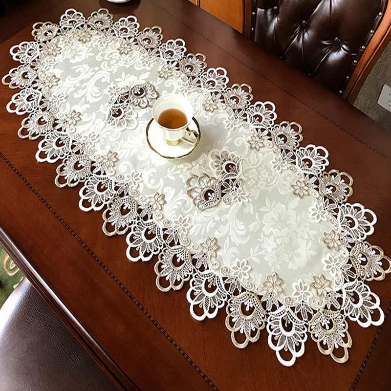 Chenxiu Brand Household Textile Oval And Round Size Tablecloth