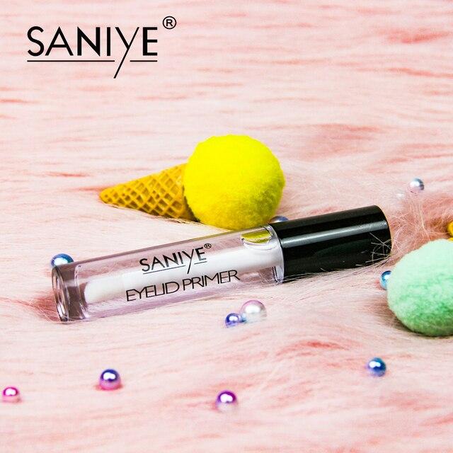 SANIYE 15ml Clean Eye Shadow Primer Eye Makeup Base Cream Moisturizing eyeshadow Primer Easy To Wear eyelid primer R1187 5