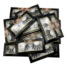 25mm lashes mink messy 6d false fluffy wholesale extensions tools 10 pairs
