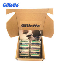 Gillette Fusion Blade for Shaving 8 Replaceable Cassettes Shaving Fusion Shaving Cartridge Fusion Removable Razor Blades for Men