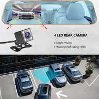 "Auto Dvr Kamera 4.0 ""HD 1080P Rück Kamera Dual Objektiv Auto Dash Kamera Video Spiegel Fahren Recorder Nacht vision Auto Recorder"