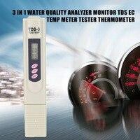 Tds medidor tester portátil caneta digital 9999pm alta precisão filtro de medição da pureza da água qualidade monitor detector|Medidor de concentração| |  -