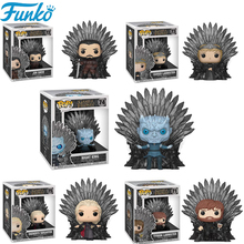 Funko Pop Game of Thrones PVC Action Figures Toys Daenerys Night King Jon Snow Tyrion Collection Model Gift for Children 2F13 цена и фото