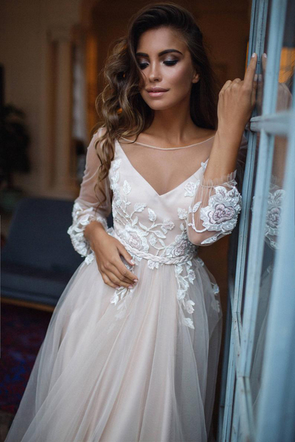 Robe de Mariage Alice Bohème Romantique