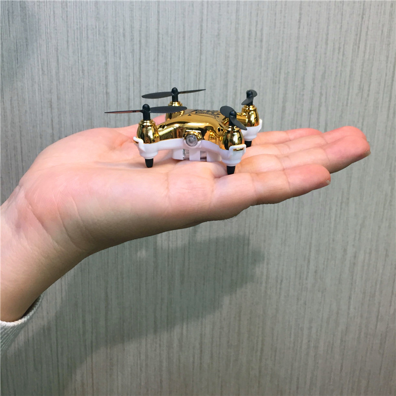 Hot Selling Pocket Mini Unmanned Aerial Vehicle Remote-control Four-axis Aircraft Mini Non-Aerial Photography Aviation Model Toy