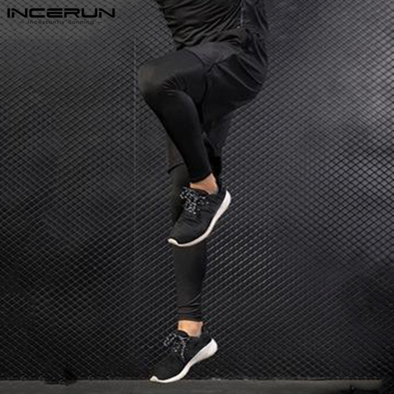 Men Running Fitness Joggers Training Trousers Sport Jogging Pants Exercise Gym Long Pant Outdoor Active Wear Sportswear INCERUN