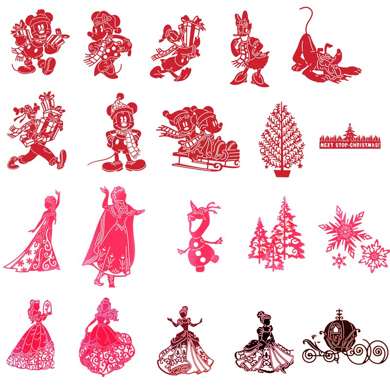 Princess Mouse Carriage Clear Stamps Metal Cutting Dies for Craft Scrapbooking