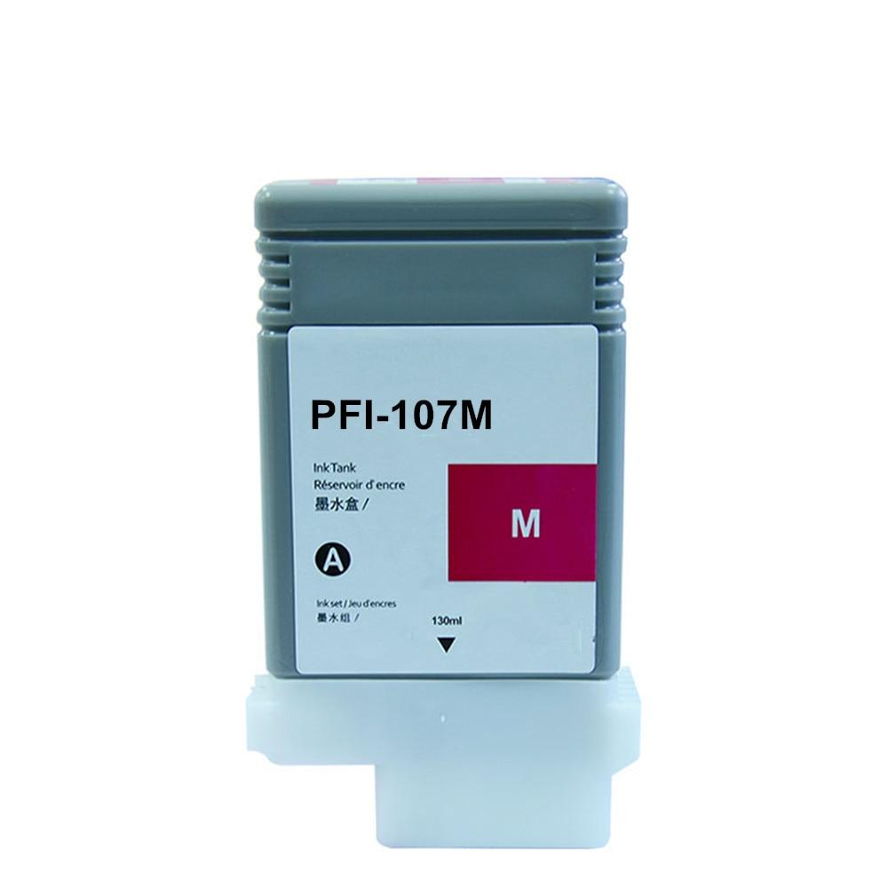 Image 4 - PFI 107 Совместимый картридж для Canon IPF670 IPF680 IPF685  IPF770 IPF780 IPF785 IPF 670 IPF 770 IPF 670 770 PFI107 PFI  107Чернильные картриджи