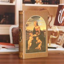 Имитация книг поддельная книга Европейский ретро Декор для дома