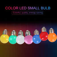 7 Color E27 LED Bulb 3W Festival Decoration Lighting Energy Saving Lamp Screw Bulb Bar KTV Party Lighting Decoration