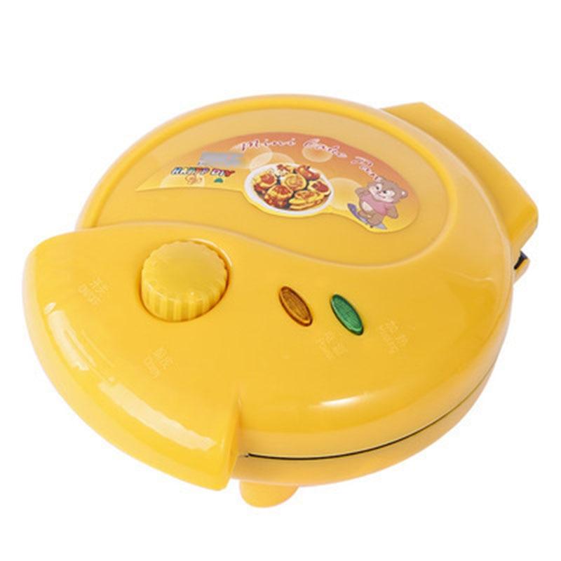 Multi Function Cartoon Mini Children's Home Full Automatic Cake Machine Double Side Heating Baking Breakfast Machine
