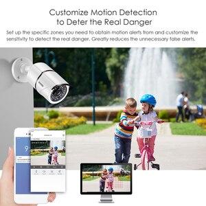 Image 5 - ZOSI H.265 + 8CH 5MP POE אבטחת מצלמה מערכת ערכת 8x5MP סופר HD IP מצלמה חיצוני עמיד למים CCTV וידאו מעקב NVR סט