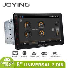 "8""Autoradio Bluetooth Android Auto Car Radio DVD Automotivo 2 Din Universal Multimedia Audio TV Digital GPS HD 1280*720 Carplay"
