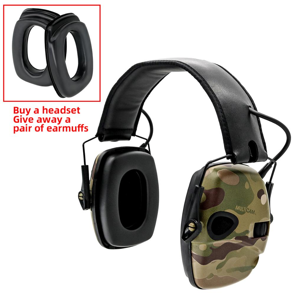Image 5 - Electronic Ear muff Tactical Headset Anti noise Sound Amplification Shooting Hunting Hearing protection Protective EarmuffsEar Protector   -